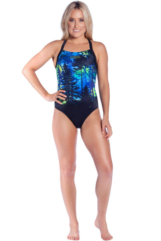 Midnight Magic Ladies Racers - Shop Zealous Training Swimwear