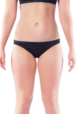 Pitch Black Brief Ladies Two Piece - Briefs - Shop Zealous Training Swimwear