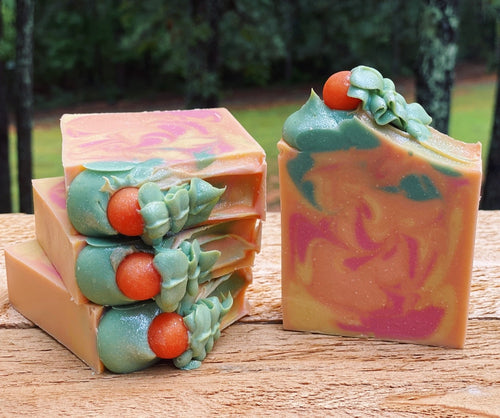 Nectarine & Mint - soap