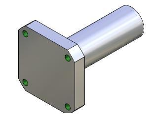Adapter for cylinder 12