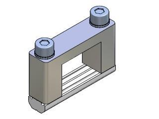Square joint connector 25X18