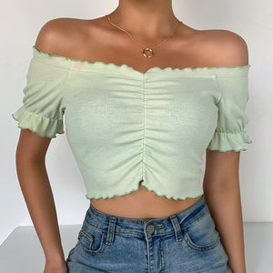 Sandy Crop Top