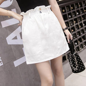 Elastic Waist Summer Skirt