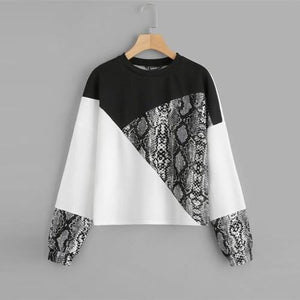 Snake Skin Long Sleeve