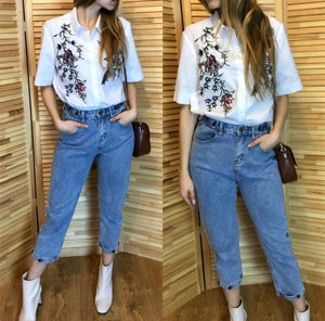 Vintage Mom Jeans Trousers