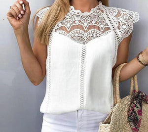 Elegant Embroidery Top