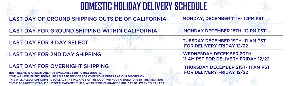 Shipping & Delivery – Lakers Store