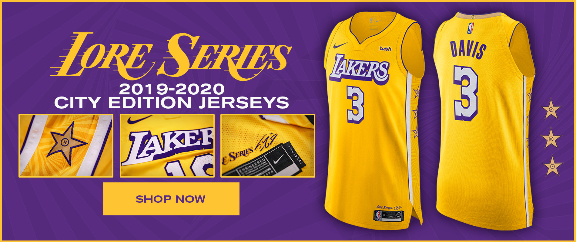 Lakers 2019-20 City Edition Jerseys