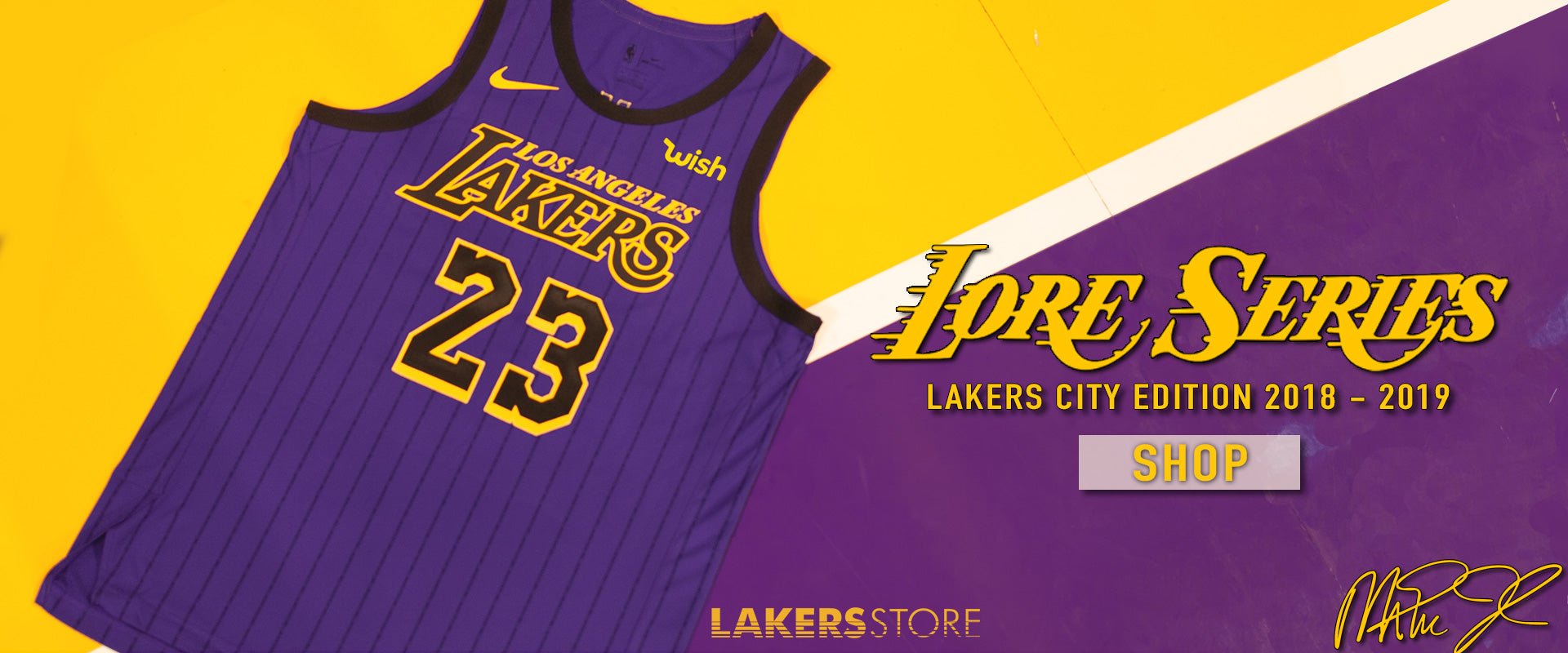 City Edition Collection – Lakers Store