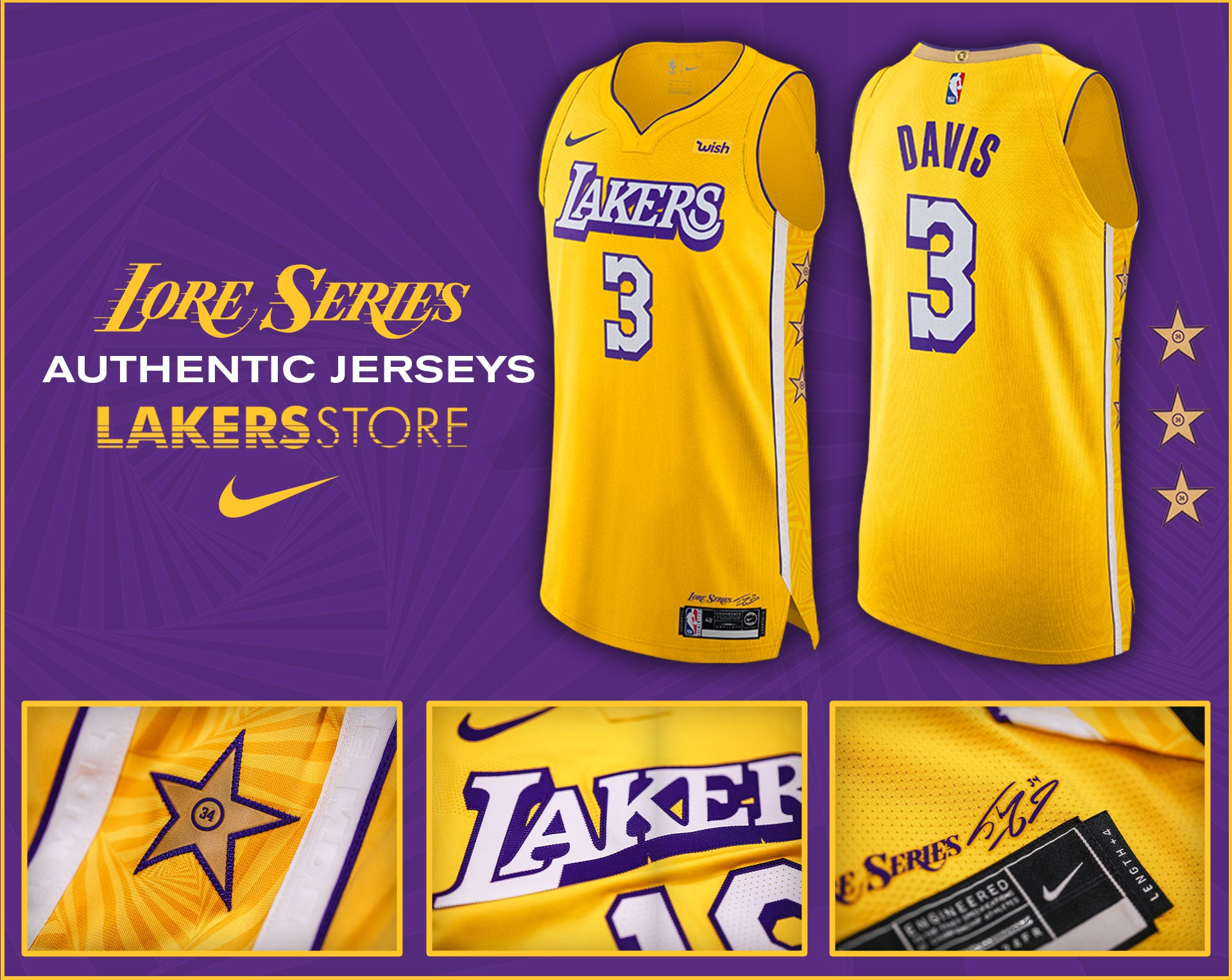 2019 2020 City Edition Jerseys Lakers Store