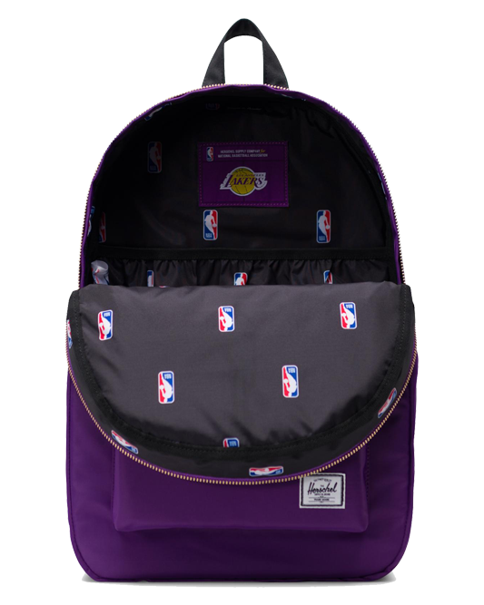Lakers Super Fan Purple Settlement Backpack
