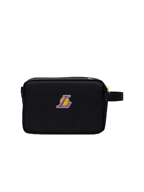 Los Angeles Lakers Black Chapter Travel Pouch Bag