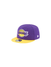 Los Angeles Lakers 59FIFTY Sueded Metal Fitted Cap - Black