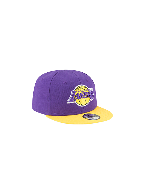 Los Angeles Lakers Toddler My First 9FIFTY Snapback Cap - Purple