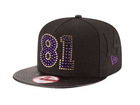Los Angeles Lakers Limited Edition Kobe Bryant 81-Point Adjustable Crystal Cap