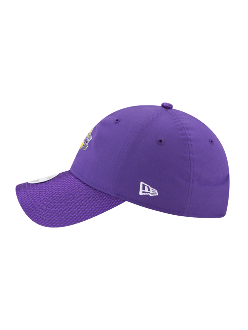 Los Angeles Lakers Womens 9TWENTY On Court Team Luxe Mesh Slouch Adjustable Cap