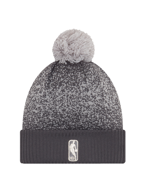 0d6d79cf188 Los Angeles Lakers Youth On Court Graphite Pom Cuff Knit Hat ...