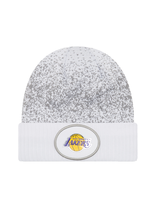 Los Angeles Lakers On Court Team Cuff Knit Hat