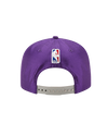 Los Angeles Lakers 2017 Draft 950 On Court Mesh Suede Snapback - Purple