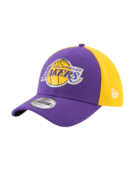 Los Angeles Lakers Toddler 39THIRTY On Court Team Flex Fit Cap