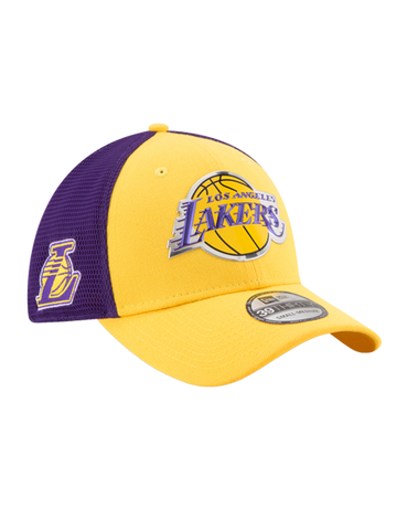 Los Angeles Lakers 9FIFTY Heather Grand Snap Back Cap