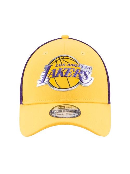 Los Angeles Lakers Toddler 39THIRTY On Court Reverse Team Flex Fit Cap