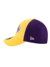 Los Angeles Lakers Youth 39THIRTY On Court Reverse Team Flex Fit Cap