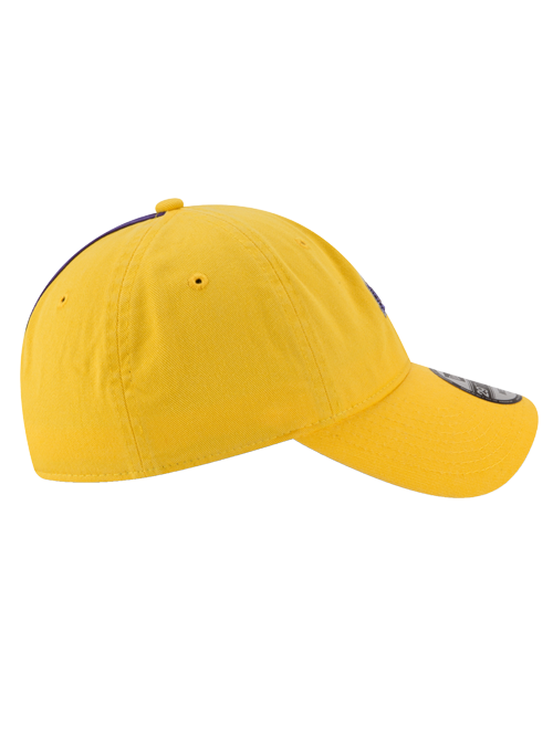 Los Angeles Lakers 29TWENTY On Court Reverse Team Slouch Fit Cap