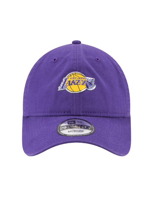 Los Angeles Lakers 29TWENTY On Court Team Slouch Fit Cap