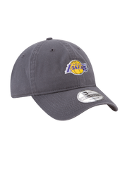 Los Angeles Lakers 29TWENTY On Court Graphite Slouch Fit Cap