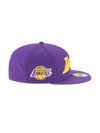 Los Angeles Lakers 9FIFTY On Court Statement Wordmark Snapback Cap