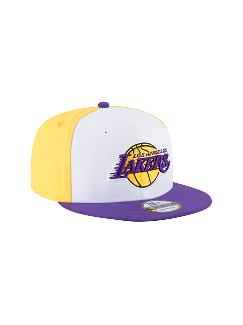Los Angeles Lakers 9FIFTY Team Retro Wheel Snapback Cap