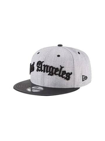 Los Angeles Lakers 9TWENTY Rugged Stack Mesh Snapback Cap