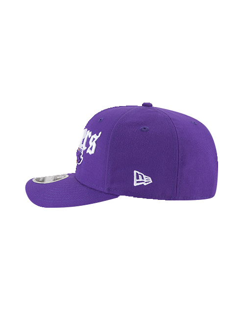 Los Angeles Lakers 9FIFTY Classic Curve Script Snapback Cap