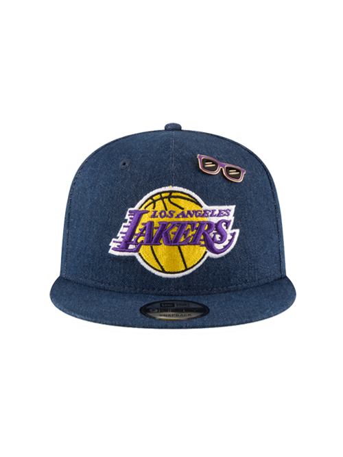 31439a867d3c1 Los Angeles Lakers 2018 Draft 9FIFTY Denim Snapback Cap – Lakers Store
