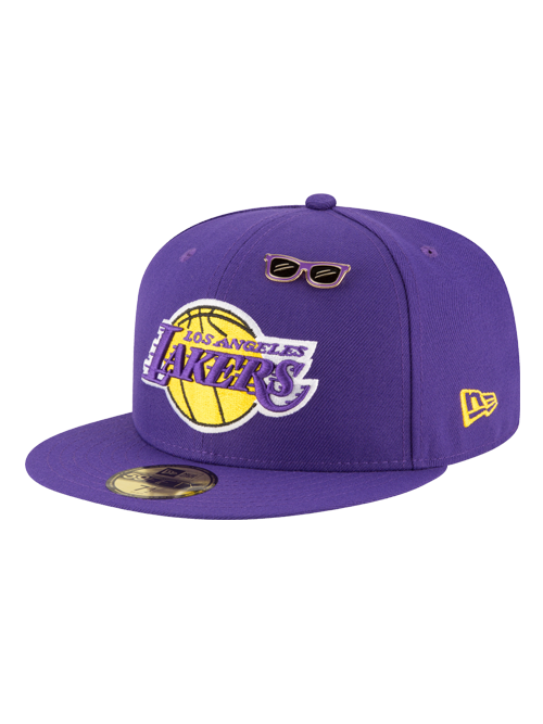 Los Angeles Lakers 2018 Official Draft 59FIFTY Fitted Cap