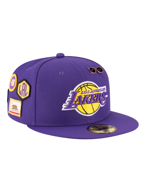 42a6c24f393 Los Angeles Lakers 2018 Official Draft 59FIFTY Fitted Cap – Lakers Store