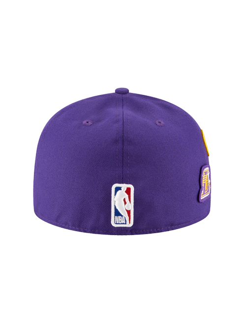 Los Angeles Lakers 2018 Official Draft 59FIFTY Fitted Cap – Lakers Store 047ebde73e4c
