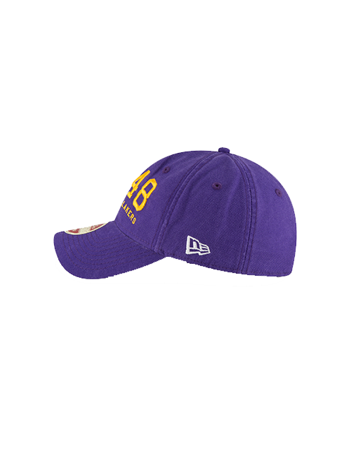 Los Angeles Lakers 9TWENTY Established Team Front Adjustable Cap
