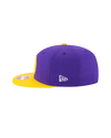 Los Angeles Lakers 9FIFTY Double Patched Snapback Cap