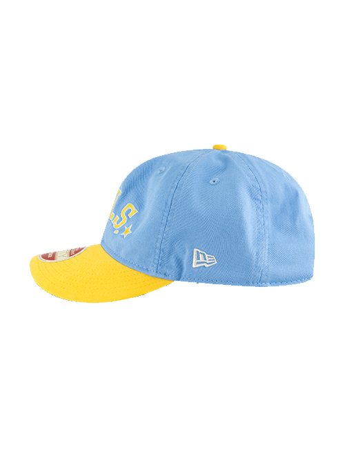 Los Angeles Lakers 9FIFTY Retro MPLS Two Tone Team Retro Cap