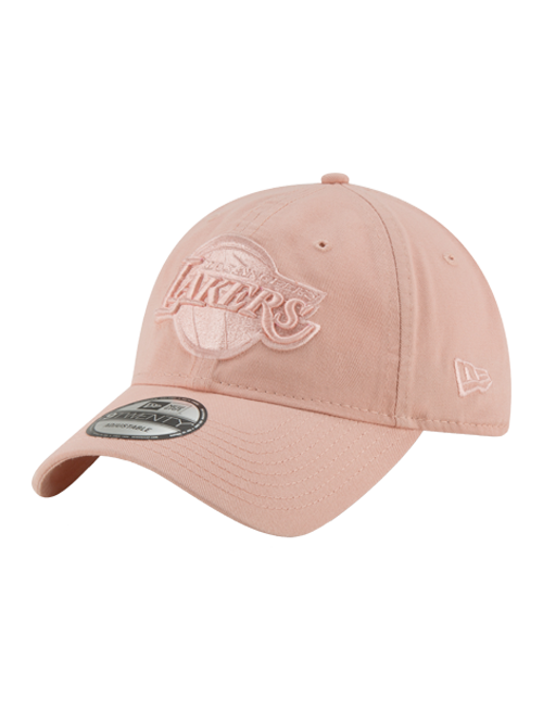 187773d30c1e2 Los Angeles Lakers 9TWENTY Core Classic Rose Adjustable Cap