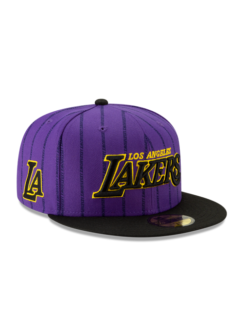 Los Angeles Lakers City Edition 59FIFTY Fitted Cap