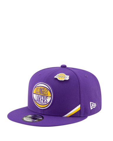 Los Angeles Lakers 2020 NBA Champions Youth Locker Room Snapback Cap