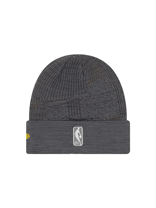Los Angeles Lakers Training Knit Hat - Grey
