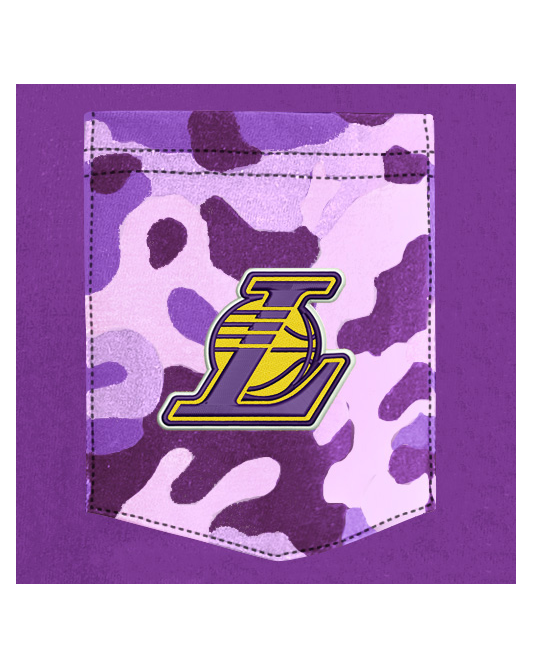 Los Angeles Lakers Pocket T-shirt