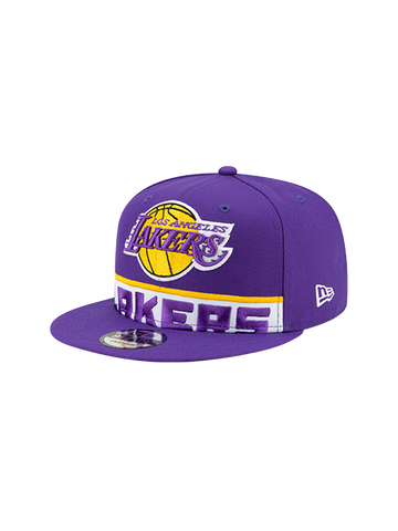 Los Angeles Lakers Breaker Green Brim Snapback Cap