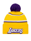 Los Angeles Lakers City Edition Pom Knit - Gold