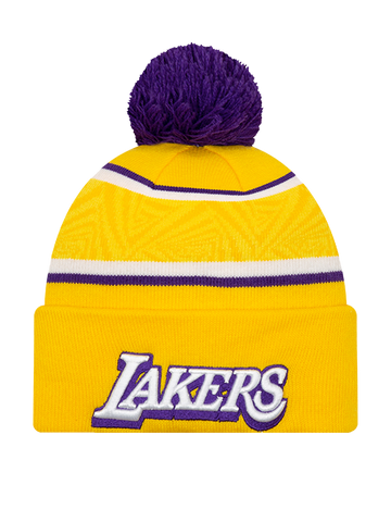 Los Angeles Lakers Color Twist Pom Knit - Purple