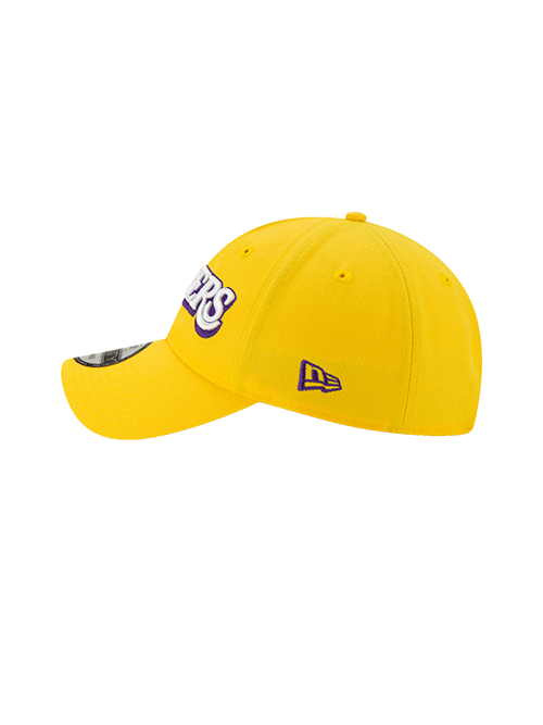Los Angeles Lakers 9TWENTY City Edition Adjustable Cap - Gold